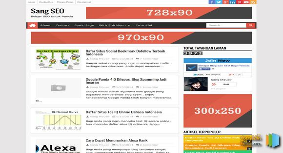 Download template blog seo 30 best seo blog templates free pejuang template pronofoot35fo Image collections