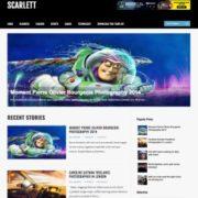 Scarlett Blogger Templates