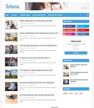 Schema Blogger Templates