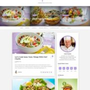 Scoop Food Blogger Templates