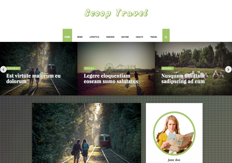 Scoop Travel Personal Blogger Template. Blogger Themes. Free Blogspot templates for your blogger blog. Best suitable for news blog templates. Ads ready blogspot templates help for add adsense ad code and easily showing adsence ads in your blog. Adapted from WordPress templates are converted from WordPress themes. It is help for take your rich. Blogger magazine template specially designed for magazine blogs. The writers can utilize this themes for take blog attractive to users. Elegant themes are more used themes in most of the blogs. Use minimalist blog templates for rich look for your blog. Free premium blogger themes means, themes authors release two types of themes. One is premium another one is free. Premium templates given for cost but free themes given for no cost. You no need pay From California, USA. $10 USD, or $20 USD and more. But premium buyers get more facilities from authors But free buyers. If you run game or other animation oriented blogs, and you can try with Anime blog templates. Today the world is fashion world. So girls involve to the criteria for make their life fashionable. So we provide fashion blogger themes for make your fashionable. News is most important concept of the world. Download news blogger templates for publishing online news. You can make your blog as online shopping store. Get Online shopping store blogger template to sell your product. Navigation is most important to users find correct place. Download drop down menu, page navigation menu, breadcrumb navigation menu and vertical dropdown menu blogspot themes for free. Google Guide to blogging tips and tricks for bloggers. Google bloggers can get blogspot trick and tips for bloggers. Blog templates portfolio professional blogspot themes, You can store your life moments with your blogs with personal pages templates. Video and movie blogs owners get amazing movie blog themes for their blogs. Business templates download. We publish blogger themes for photographers. Photographers easily share photos via photography blog themes. St valentine Christmas Halloween templates. Download Slideshow slider templates for free. Under construction coming soon custom blogspot template. Best beautiful high quality Custom layouts Blog templates from templateism, SoraTemplates, templatetrackers, simple, cute free premium professional unique designs blog themes blogspot themes. Seo ready portfolio anime fashion movie movies health custom layouts best download blogspot themes simple cute free premium professional unique designs xml html code html5.