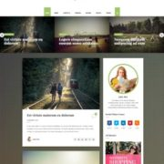 Scoop Travel Blogger Templates