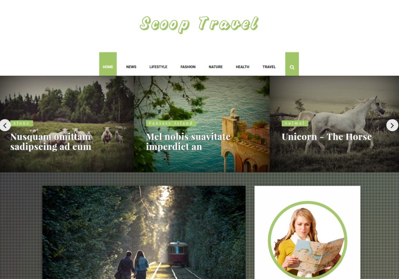 Scoop Travel Personal Blogger Template. Blogger Themes. Free Blogspot templates for your blogger blog. Best suitable for news blog templates. Ads ready blogspot templates help for add adsense ad code and easily showing adsence ads in your blog. Adapted from WordPress templates are converted from WordPress themes. It is help for take your rich. Blogger magazine template specially designed for magazine blogs. The writers can utilize this themes for take blog attractive to users. Elegant themes are more used themes in most of the blogs. Use minimalist blog templates for rich look for your blog. Free premium blogger themes means, themes authors release two types of themes. One is premium another one is free. Premium templates given for cost but free themes given for no cost. You no need pay From California, USA. $10 USD, or $20 USD and more. But premium buyers get more facilities from authors But free buyers. If you run game or other animation oriented blogs, and you can try with Anime blog templates. Today the world is fashion world. So girls involve to the criteria for make their life fashionable. So we provide fashion blogger themes for make your fashionable. News is most important concept of the world. Download news blogger templates for publishing online news. You can make your blog as online shopping store. Get Online shopping store blogger template to sell your product. Navigation is most important to users find correct place. Download drop down menu, page navigation menu, breadcrumb navigation menu and vertical dropdown menu blogspot themes for free. Google Guide to blogging tips and tricks for bloggers. Google bloggers can get blogspot trick and tips for bloggers. Blog templates portfolio professional blogspot themes, You can store your life moments with your blogs with personal pages templates. Video and movie blogs owners get amazing movie blog themes for their blogs. Business templates download. We publish blogger themes for photographers. Photographers easi