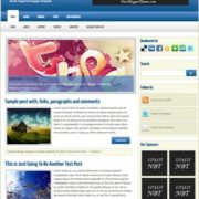 Secret Magazine Blogger Templates