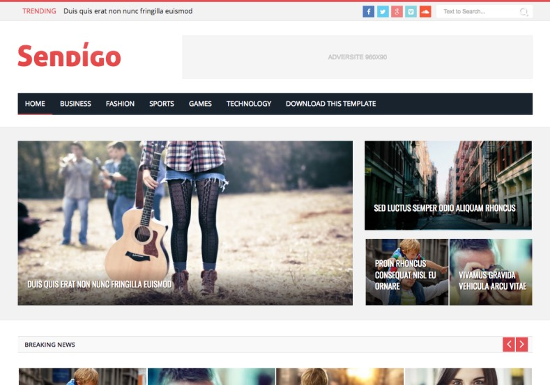 Sendigo Blogger Template. Blogger Themes. Free Blogspot templates for your blogger blog. Best suitable for news blog templates. Best Ads ready blogspot templates help for add adsense ad code and easily showing adsence ads in your blog. Adapted from WordPress templates are converted from WordPress themes. It is help for take your rich. Blogger magazine template specially designed for magazine blogs. The writers can utilize this themes for take blog attractive to users. Elegant themes are more used themes in most of the blogs. Use minimalist blog templates for rich look for your blog. Free premium blogger themes means, themes authors release two types of themes. One is premium another one is free. Premium templates given for cost but free themes given for no cost. You no need pay From California, USA. $10 USD, or $20 USD and more. But premium buyers get more facilities from authors But free buyers. If you run game or other animation oriented blogs, and you can try with Anime blog templates. Today the world is fashion world. So girls involve to the criteria for make their life fashionable. So we provide fashion blogger themes for make your fashionable. News is most important concept of the world. Download news blogger templates for publishing online news. You can make your blog as online shopping store. Get Online shopping store blogger template to sell your product. Navigation is most important to users find correct place. Download drop down menu, page navigation menu, breadcrumb navigation menu and vertical dropdown menu blogspot themes for free. Google Guide to blogging tips and tricks for bloggers. Google bloggers can get blogspot trick and tips for bloggers. Blog templates portfolio professional blogspot themes, You can store your life moments with your blogs with personal pages templates. Video and movie blogs owners get amazing movie blog themes for their blogs. Business templates download. We publish blogger themes for photographers. Photographers easily share photos via photography blog themes. St valentine Christmas Halloween templates. Download Slideshow slider templates for free. Under construction coming soon custom blogspot template. Best beautiful high quality Custom layouts Blog templates from templateism, SoraTemplates, templatetrackers, simple, cute free premium professional unique designs blog themes blogspot themes. Seo ready portfolio anime fashion movie movies health custom layouts best download blogspot themes simple cute free premium professional unique designs xml html code html5. Sendigo Blogger Template.