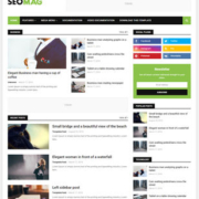 Seo Mag Blogger Templates