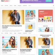 Seo Rocket Blogger Templates