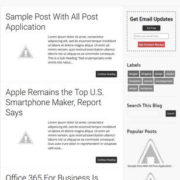 SeoMag Responsive Blogger Templates