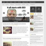 SeoMarketing Blogger Templates