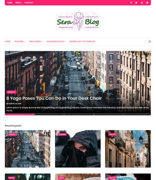 Sera Blog Blogger Templates