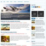 Setra Blogger Templates