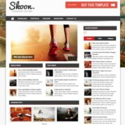 Shoon Responsive Blogger Templates