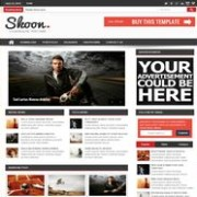 Shoon Responsive Blogger Template