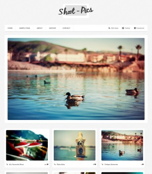 Shoot pics Blogger Templates