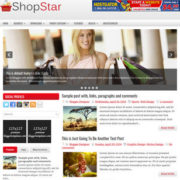 ShopStar Blogger Templates