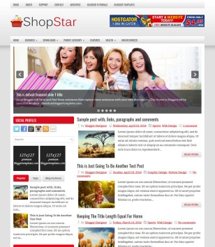 Online shopping store blogger templates 2018 ecommerce shopstar responsive maxwellsz