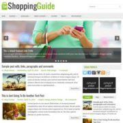 ShoppingGuide Blogger Templates