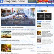 ShoppingTheme Blogger Templates