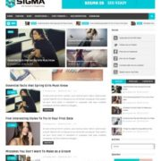 Sigma Blogger Templates