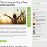 Simple Snipe Responsive Blogger Templates