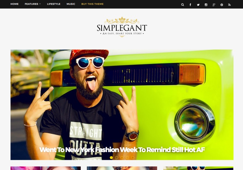 Simplegant Blogger Template. Best quality premium blogger templates 2017 for simple and magazine blogger blogs. Design your blogger blogs elegantly with Simplegant Blogger Template.