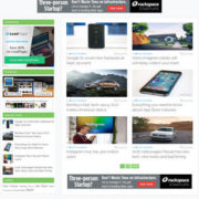 Simply Mag Blogger Templates