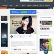 Simpro Responsive Blogger Templates