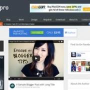 Simpro Responsive Blogger Template