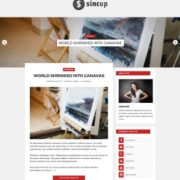 Sincup Blogger Templates