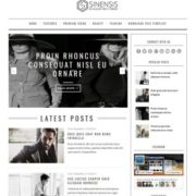 Sinensis Blogger Templates