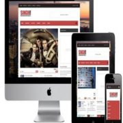 Singh Mag Responsive Blogger Templates