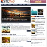 SiteMag Blogger Templates