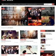 Sky Blog Blogger Templates