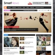 Smart News Responsive Blogger Templates