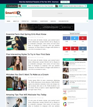 Smart Seo Blogger Templates