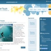 Smart Touch blogger template