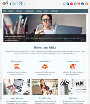 Business blogger templates 2018 free download smartbiz wajeb Images