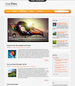 SmartPress Blogger Templates