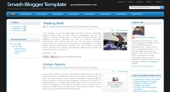 Smash blogger template. Free Blogger templates. Blog templates. Template blogger, professional blogger templates free. blogspot themes, blog templates. Template blogger. blogspot templates 2013. template blogger 2013, templates para blogger, soccer blogger, blog templates blogger, blogger news templates. templates para blogspot. Templates free blogger blog templates. Download 1 column, 2 column. 2 columns, 3 column, 3 columns blog templates. Free Blogger templates, template blogger. 4 column templates Blog templates. Free Blogger templates free. Template blogger, blog templates. Download Ads ready, adapted from WordPress template blogger. blog templates Abstract, dark colors. Blog templates magazine, Elegant, grunge, fresh, web2.0 template blogger. Minimalist, rounded corners blog templates. Download templates Gallery, vintage, textured, vector,  Simple floral.  Free premium, clean, 3d templates.  Anime, animals download. Free Art book, cars, cartoons, city, computers. Free Download Culture desktop family fantasy fashion templates download blog templates. Food and drink, games, gadgets, geometric blog templates. Girls, home internet health love music movies kids blog templates. Blogger download blog templates Interior, nature, neutral. Free News online store online shopping online shopping store. Free Blogger templates free template blogger, blog templates. Free download People personal, personal pages template blogger. Software space science video unique business templates download template blogger. Education entertainment photography sport travel cars and motorsports. St valentine Christmas Halloween template blogger. Download Slideshow slider, tabs tapped widget ready template blogger. Email subscription widget ready social bookmark ready post thumbnails under construction custom navbar template blogger. Free download Seo ready. Free download Footer columns, 3 columns footer, 4columns footer. Download Login ready, login support template blogger. Drop down menu ve