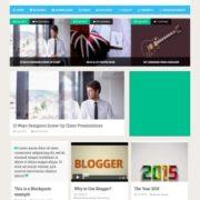 Social Mag Blogger Templates