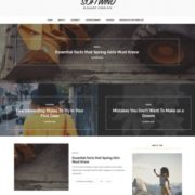SoftWind Blogger Templates