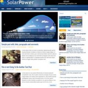 SolarPower Blogger Templates