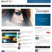 Soloris Responsive Blogger Templates