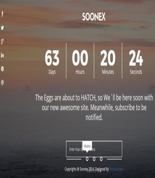Soonex Slideshow Blogger Templates