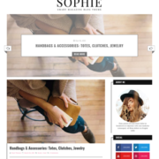 Sophie Minimal Blogger Templates
