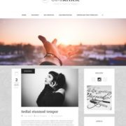 Sora Article Responsive Blogger Templates