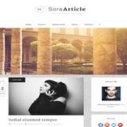 Sora Article Responsive Blogger Template