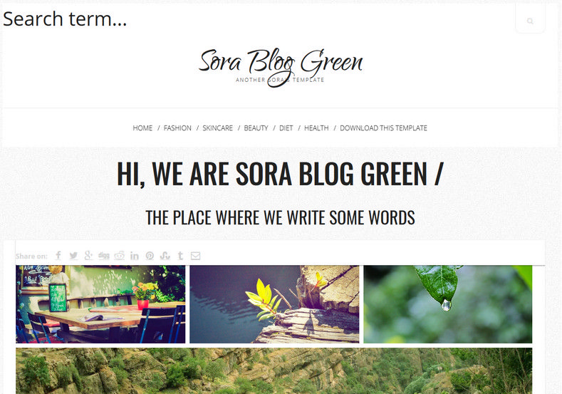 Sora Blog Green Responsive Blogger Template. Free Blogger templates. Blog templates. Template blogger, professional blogger templates free. blogspot themes, blog templates. Template blogger. blogspot templates 2013. template blogger 2013, templates para blogger, soccer blogger, blog templates blogger, blogger news templates. templates para blogspot. Templates free blogger blog templates. Download 1 column, 2 column. 2 columns, 3 column, 3 columns blog templates. Free Blogger templates, template blogger. 4 column templates Blog templates. Free Blogger templates free. Template blogger, blog templates. Download Ads ready, adapted from WordPress template blogger. blog templates Abstract, dark colors. Blog templates magazine, Elegant, grunge, fresh, web2.0 template blogger. Minimalist, rounded corners blog templates. Download templates Gallery, vintage, textured, vector, Simple floral. Free premium, clean, 3d templates. Anime, animals download. Free Art book, cars, cartoons, city, computers. Free Download Culture desktop family fantasy fashion templates download blog templates. Food and drink, games, gadgets, geometric blog templates. Girls, home internet health love music movies kids blog templates. Blogger download blog templates Interior, nature, neutral. Free News online store online shopping online shopping store. Free Blogger templates free template blogger, blog templates. Free download People personal, personal pages template blogger. Software space science video unique business templates download template blogger. Education entertainment photography sport travel cars and motorsports. St valentine Christmas Halloween template blogger. Download Slideshow slider, tabs tapped widget ready template blogger. Email subscription widget ready social bookmark ready post thumbnails under construction custom navbar template blogger. Free download Seo ready. Free download Footer columns, 3 columns footer, 4columns footer. Download Login ready, login support template blogger.