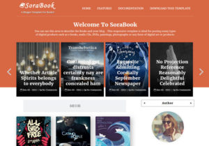 Sora Book Blogger Template best free blogger templates 2017 for blogger