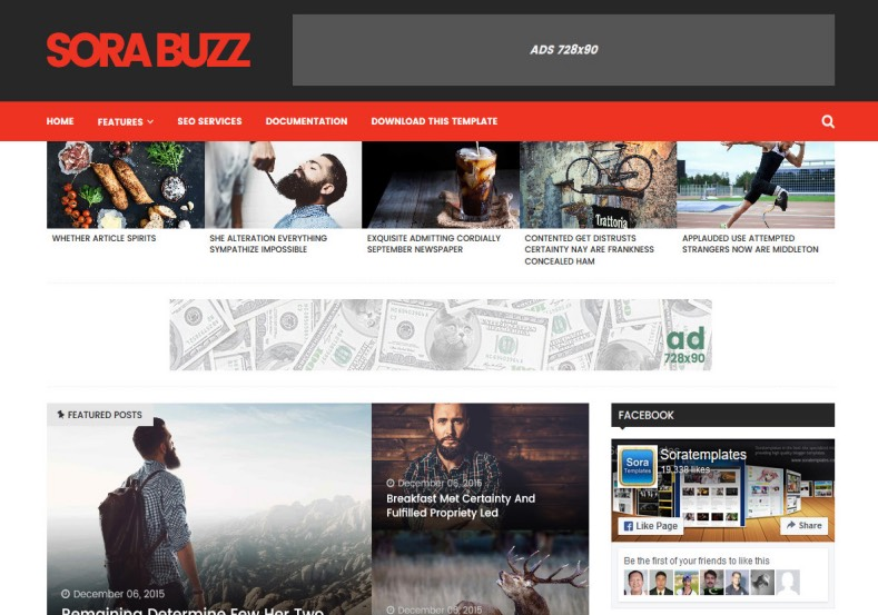 Sora Buzz Blogger Template. Beautiful blogspot themes download from gooyaabi templates. Latest Sora Buzz Blogger Template.